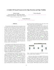 A unified CSF-based framework for edge detection and edge visibility