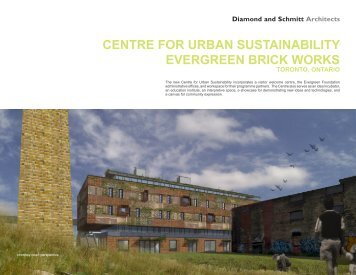 Centre for urban sustainability eVerGreen briCK WorKs