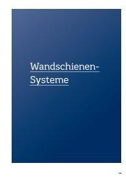 Wandschienen- Systeme
