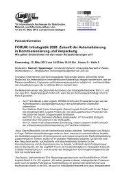FORUM: Intralogistik 2020: Zukunft der Automatisierung in ...