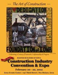 February 20 – 22, 2012 - Master Builders of Iowa