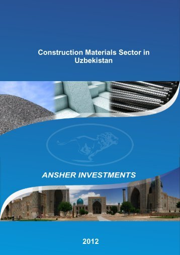 Construction Materials - Ansher Holding Limited