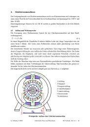 4. Gleichstrommaschinen - FB E+I: Home