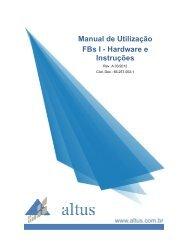 Manual de Utilização FBs I - Hardware e Instruções - Altus