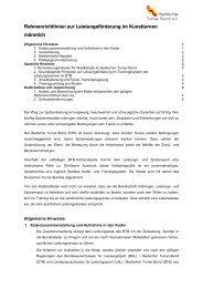 Richtlinien - Kunstturnen männlich im BTB