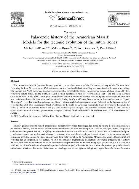 Article In Pdf Format Gãosciences Rennes Universitã De