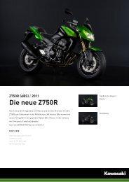 Z750R (ABS) - 2-Rad Wehrli