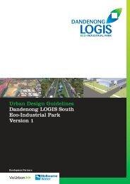 Urban design guidelines dandenong logis south eco-industrial park