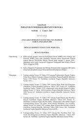 salinan peraturan daerah kabupaten bangka - Mahkamah Konstitusi ...