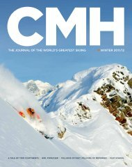 winter 2011/12 the journal of the world's greatest skiing - Summit Tour