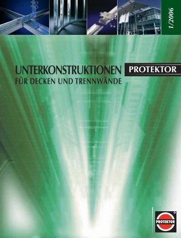 Profile und Zubehör für abgehängte Decken - Protektor