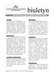 marzec 2005 nr 2/21 - Wydział Zarządzania i Ekonomii