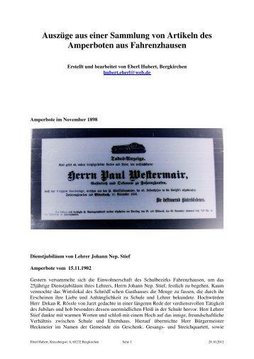Fahrenzhausen - Arcor.de