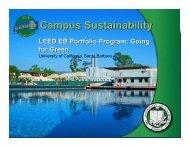LEED-EB Portfolio Program - UCSB Sustainability - University of ...