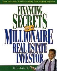 financing secrets of a millionaire real estate investor.pdf
