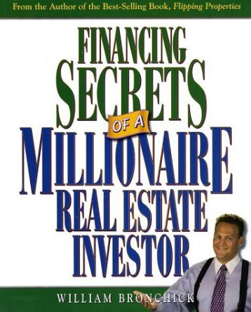 financing secrets of a millionaire real estate investor.pdf