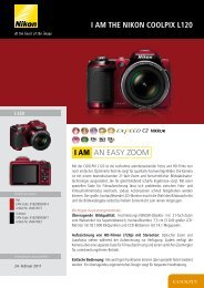 i am the nikon coolpix l120 AN EASY ZOOM I AM - Easynotebooks.de