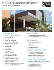 Federico Garcia Lorca Elementary School - the Public Building ...