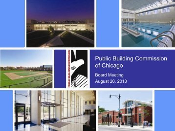 Presentation - the Public Building Commission of Chicago