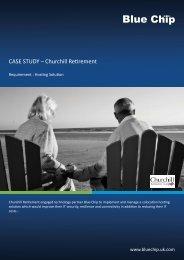 CASE STUDY – Churchill Retirement - Blue Chip - UK.COM