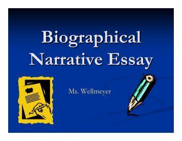 The Paragraph Narrative Essay Outline ACT ESL
