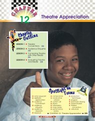 Chapter 12: Theatre Appreciation - Sharyland ISD