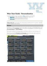 Name Surname - Warc