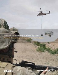 K-MAX® Unmanned Aircraft System - Lockheed Martin