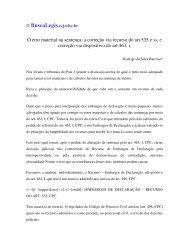 O erro material na sentença: a correção via recurso do art 535 e ss ...
