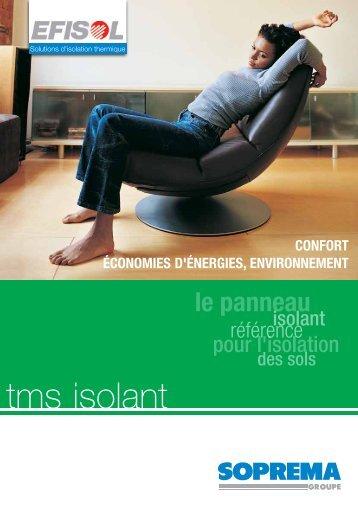 tms isolant - Chauffage-elec