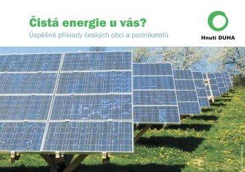Čistá energie u vás? - Hnutí DUHA