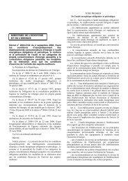 Décret n°2004-2144 du 2 septembre 2004 - REME