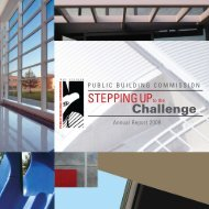 2009 Annual Report - the Public Building Commission of Chicago