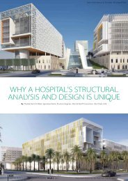 Why a hospital's structural analysis and design is ... - IIR Middle East