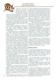 Les civils dans la guerre - Histoire géographie Dijon