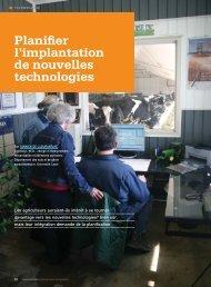 Planifier l'implantation de nouvelles technologies - Fédération des ...