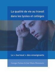 La qualité de vie au travail dans les lycées et collèges - Emploipublic.fr