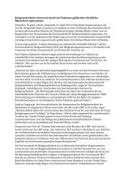 Press Release Pakistan - April 2011 IIRF D 03-1 - International ...