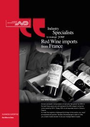 Specialists Red Wine imports from France - Brazil - Norbert ...