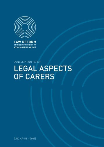 Consultation Paper on Legal Aspects of Carers - Inclusion Ireland