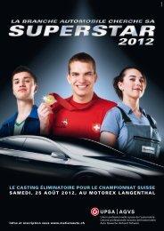Le casting éLiminatoire pour Le championnat suisse samedi, 25 ...