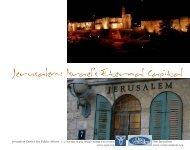 Jerusalem: Israel's Eternal Capital - Jerusalem Center For Public ...