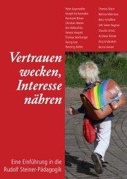 Vertrauen wecken, Interesse nähren - publiform.ch