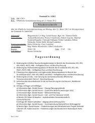 Gemeinderatsprotokoll 01/2012 vom 23.01.2012