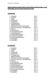 Dieses Inhaltsverzeichnis können sich die Schüler ... - Prodos-Verlag