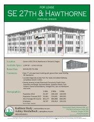 SE 27th & Hawthorne - Commercial Realty Advisors