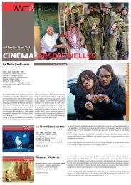 programme cinéma 17/04 - Maison de la Culture d'Amiens