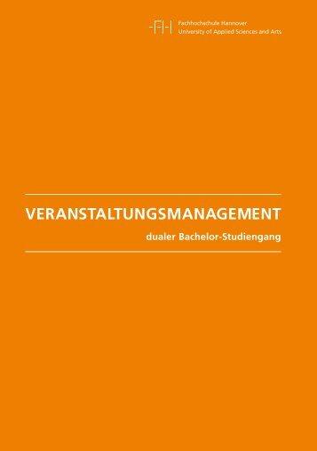 VERANSTALTUNGSMANAGEMENT - Fakultät III