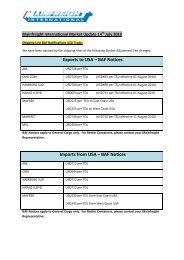 BAF Notices - Mainfreight