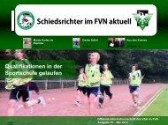 FVN aktuell Mai 2011 - Schiedsrichtervereinigung ...